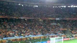 Vuvuzela sound at Cape Town Stadium- world cup 2010