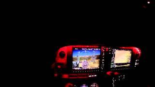 Night Landing without Landing Light :Bonus Night GPS approach