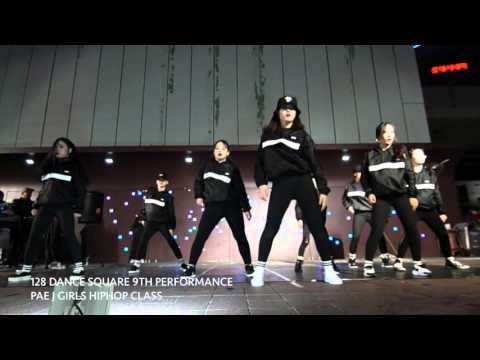 128 Dance Square 9th Performance : Pae J Girls Hiphop Class