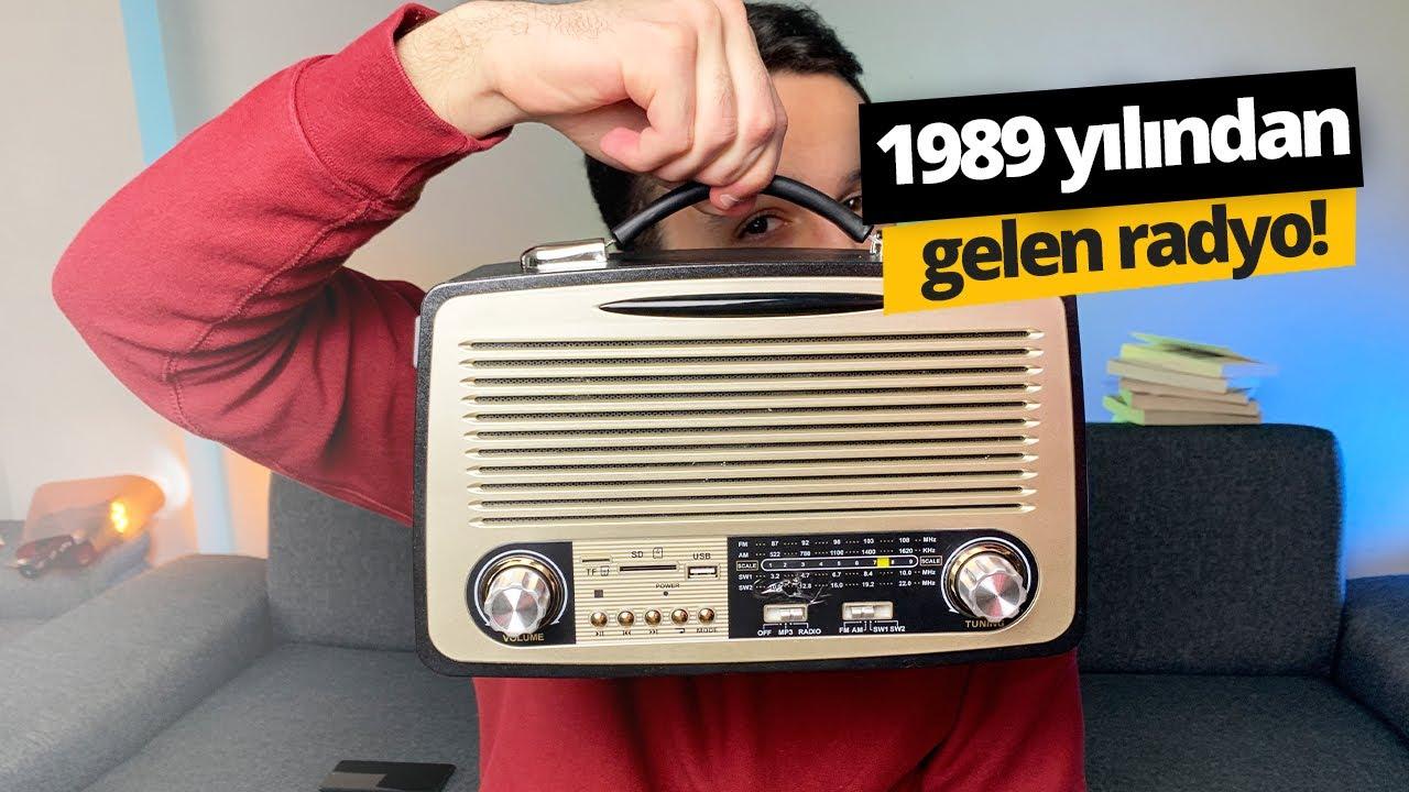 BİM'de satılan nostaljik radyoyu aldık! Yıllar sonra radyo dinlemek!