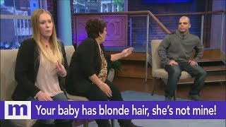 Your baby has blonde hair, she's not mine! | The Maury Show