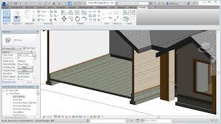 Jensen's Revit Tutorial - Residential House 09 - Garage Slab And Foundation