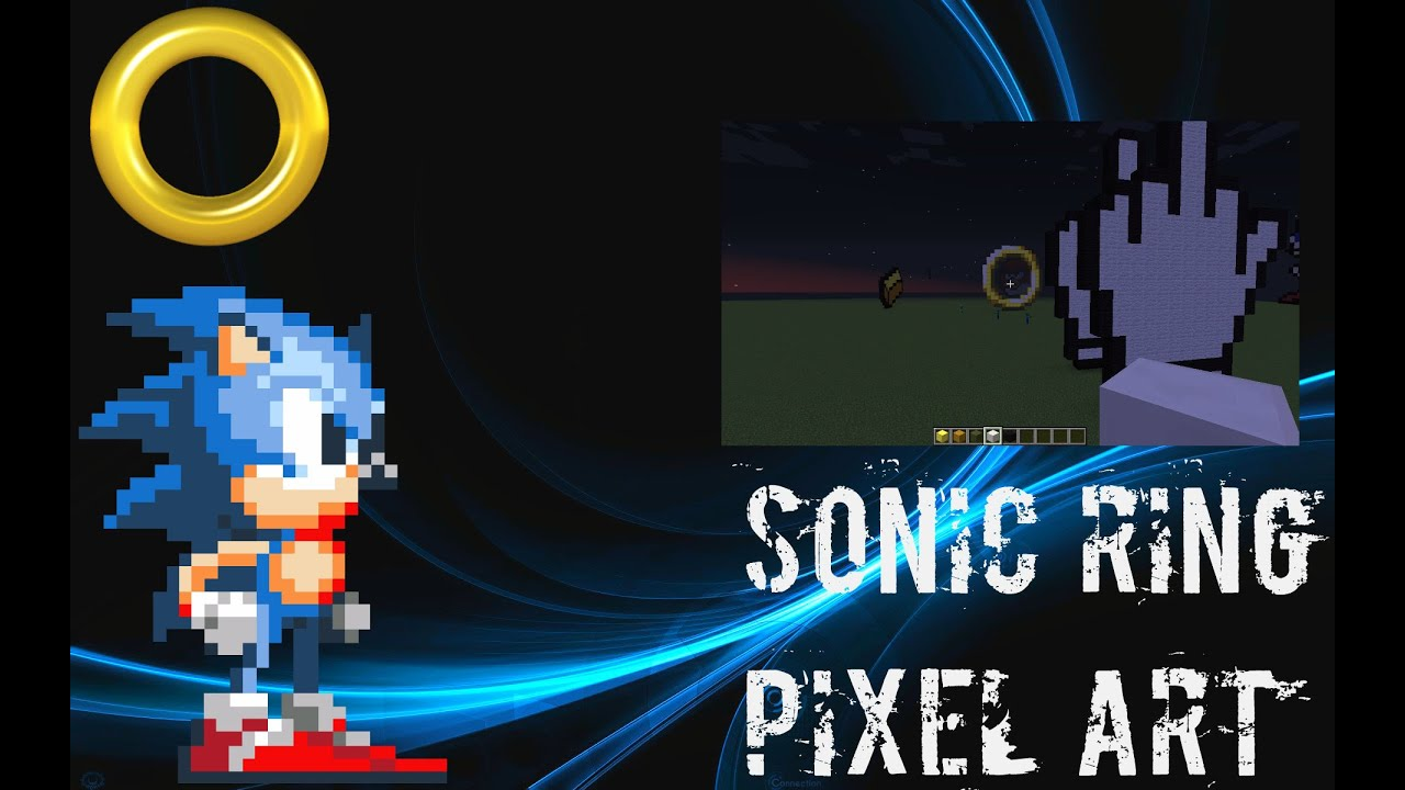Sonic Ring Pixel Art