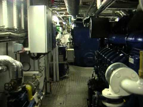 Seabed Supporter - engine room.