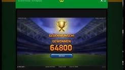 Football: Champions Cup || OnlineCasino-EU || FreeSpin Tunier || Gewinn