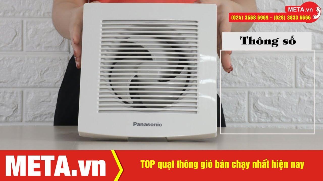TOP quạt thông gió bán chạy nhất hiện nay | META.vn