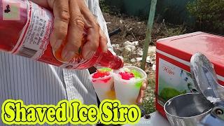 Vietnamese Street Food 2017 Shaved Ice Siro Đá Bào