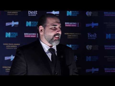 Edgar Andrade, commercial manager, LATAM Airlines (Spanish)