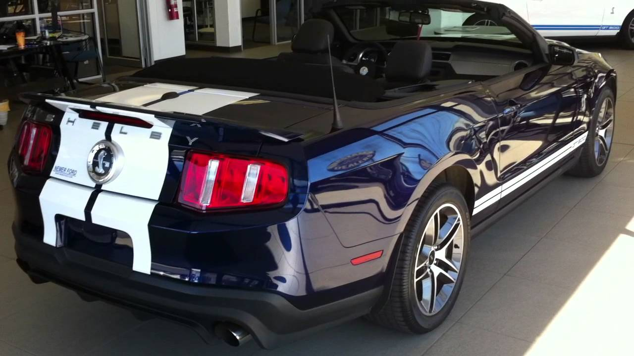 2010 Ford Mustang Shelby Gt500 Convertible Actual Hd Video Walkaround