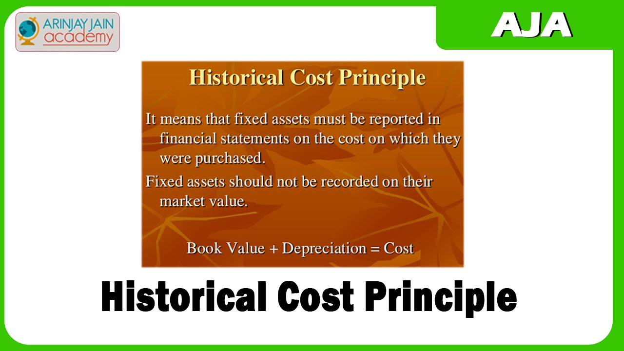 cost principles of accounting Accounting or accountancy is the measurement, processing, and communication of financial information about economic entities such as businesses and corporationsthe modern field was.