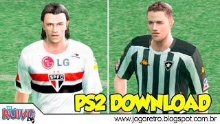 Pro Evolution Soccer 5 (VEGA Patch) com o Brasileirão 2006 no Playstation 2