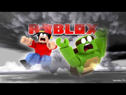 Roblox - A TORNADO TAKES ROPO AND TINYTURTLE AWAY!