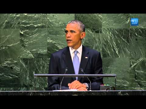 Obama Addresses Islamic State Threat in United Nations Speec