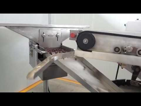Ball chocolate foil wrapping machine