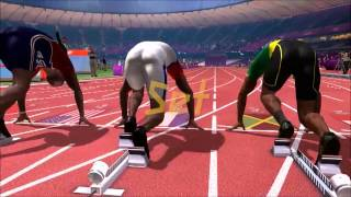 London 2012: The official video game ~ 100M Sprint gameplay~ Medium