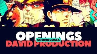 Cronología de Openings del estudio David Production (2009-2019)