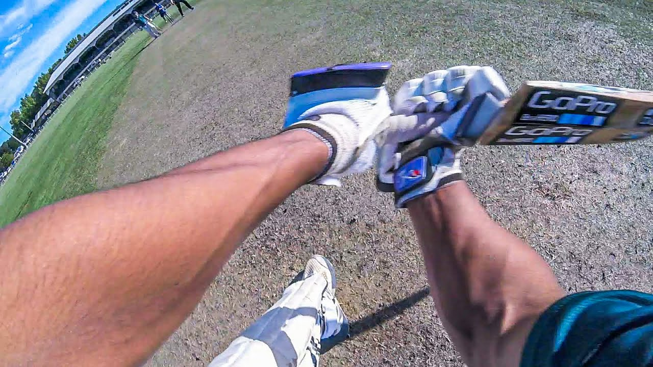 GoPro Mic'd Up while Batting on Turf Wickets after the LOCKDOWN| T20 Full Match Highlights