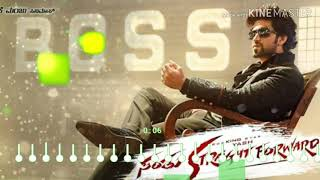 Santhu straight forward BGM | Yash