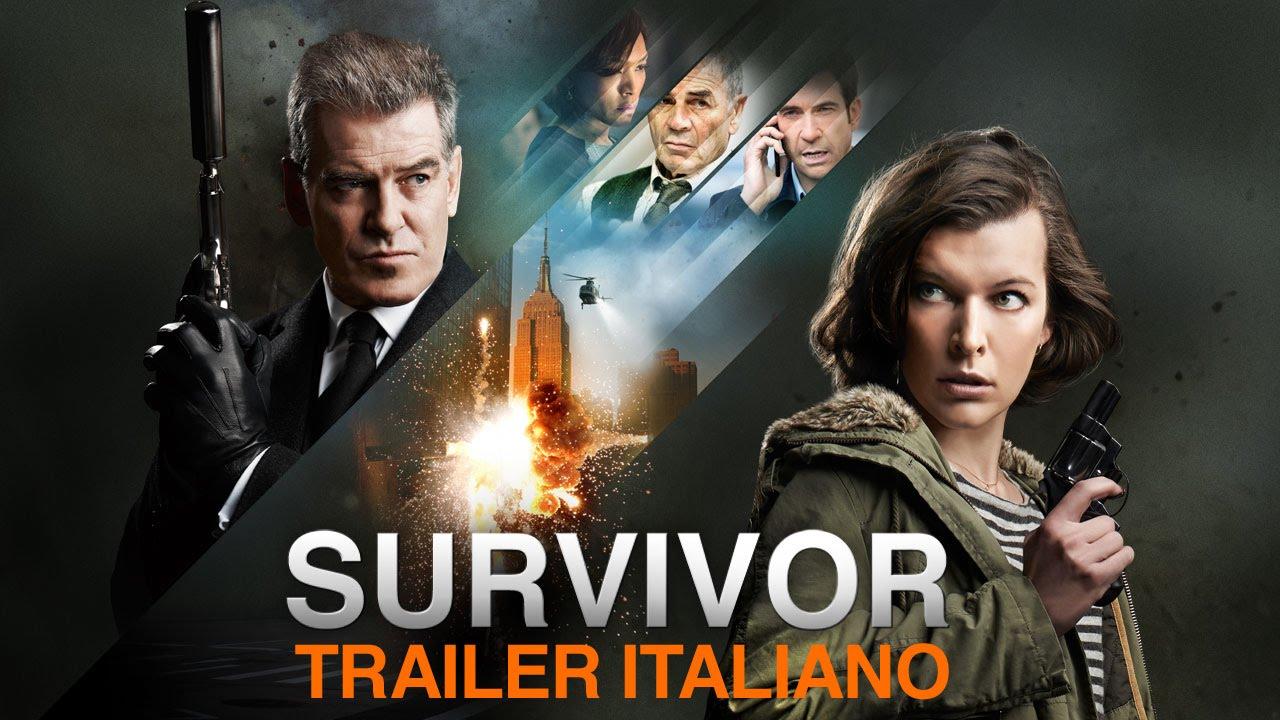 SURVIVOR - Trailer italiano [HD]