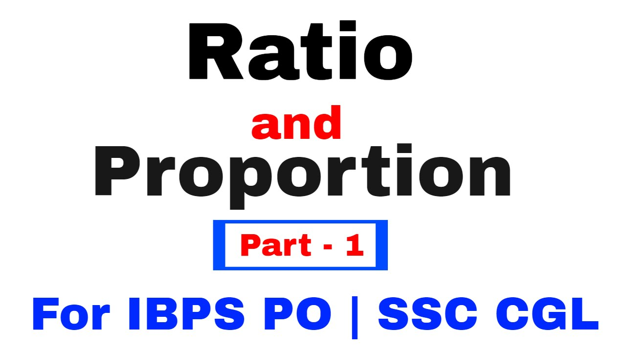 ratio and proportion pdf for bank exam