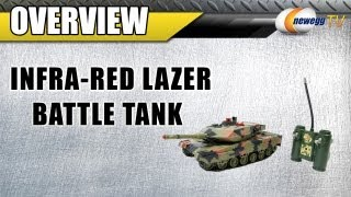 Newegg TV: Infra-Red Laser Battle RC Tank Set Review