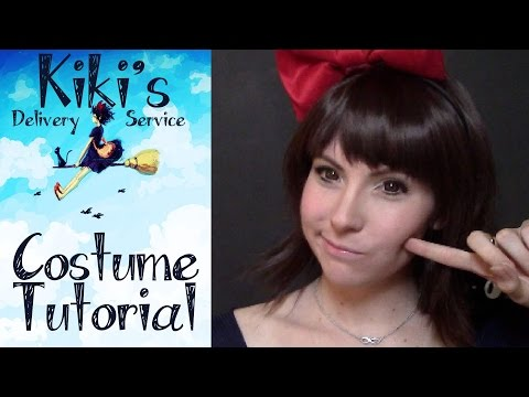 Kiki's Delivery Service Cosplay Makeup Tutorial