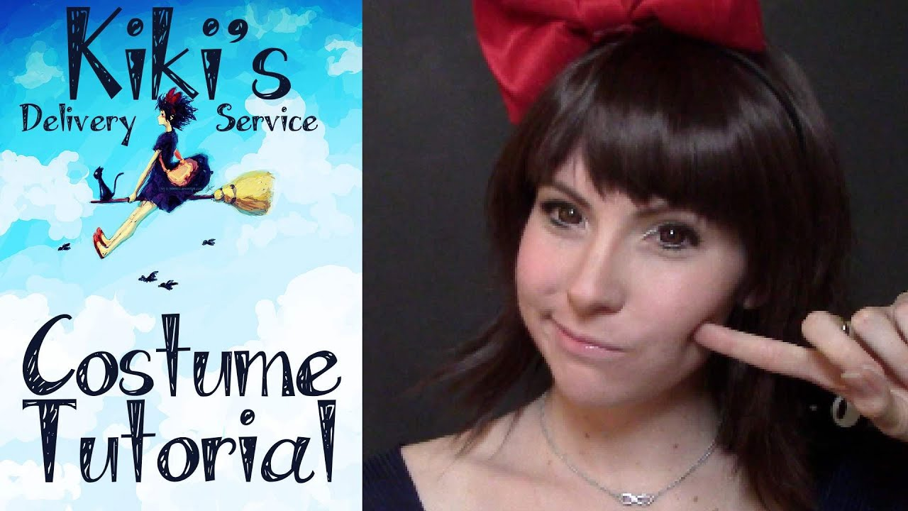 Kiki's delivery service cosplay makeup tutorial youtube.