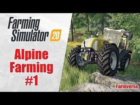 Alpine Farming 🌟 Farmverse 🌟 #1 Farming Simulator 19 Alpine Expansion Timelapse 🌟 |