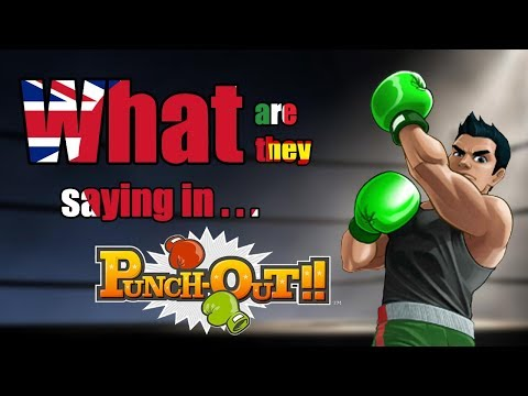 What are they saying in Punch-Out!! - DuelScreens