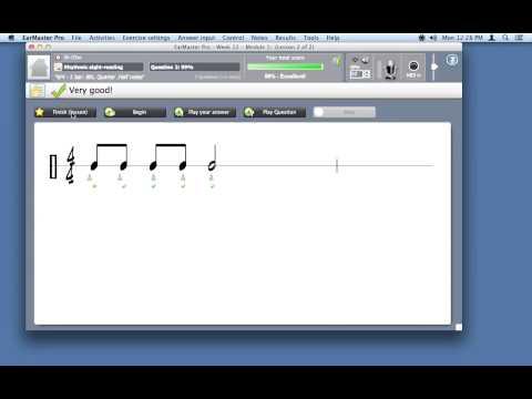 Créer des exercices de solfège avec EarMaster 6