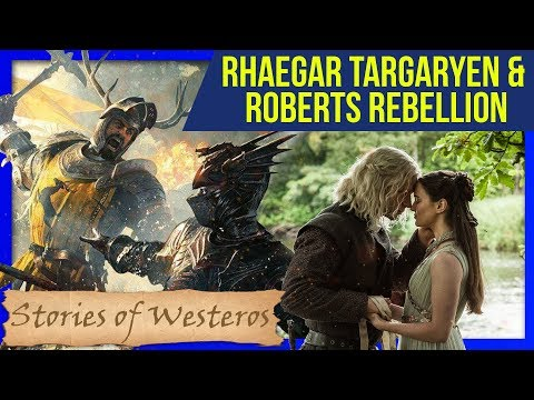 ROBERTS REBELLION & RHAEGAR TARGARYEN in 15 Minuten ♦ Stories of Westeros ❄🔥