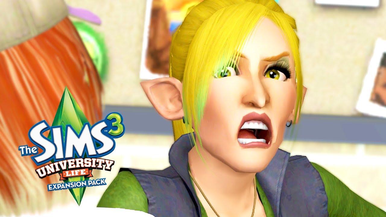 NEW NEMESIS // The Sims 3: University Life #2