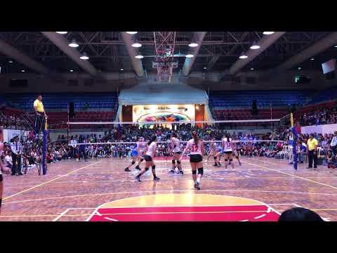 Ateneo Lady Eagles vs. Creamline cool smashers (set 3)