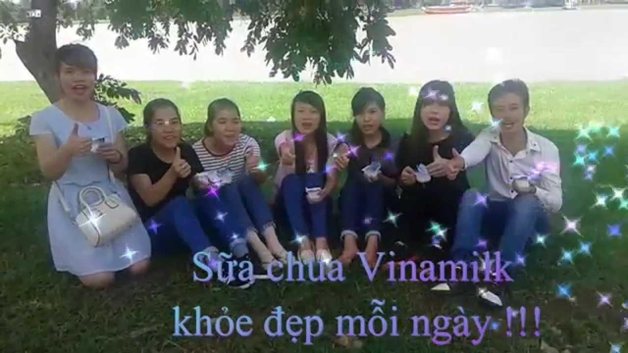 quảng cáo sữa chua vinamilk – Đại Học Kinh Tế Huế