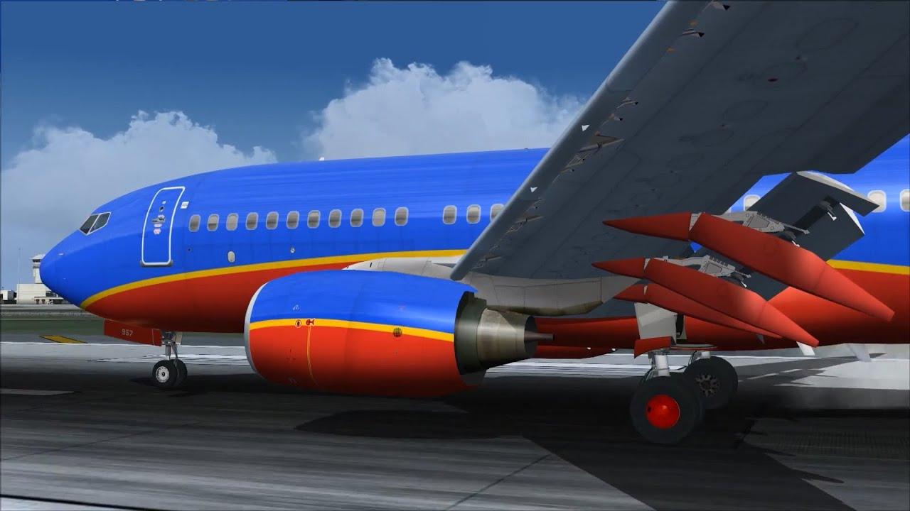 TDS Boeing 737-700 Suspension Tweak Test [FS2004]