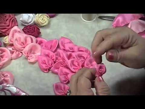 Tutorial Mudah Membuat Bunga Mawar Dari Bahan Kain
