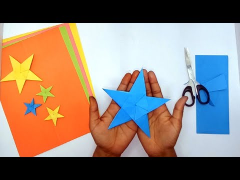 Easy Origami Star ||  How To Make Paper Stars || Easy Craft Ideas 2018