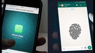 Whatsapp Android parmak izi kilidi nasıl kullanılır ?