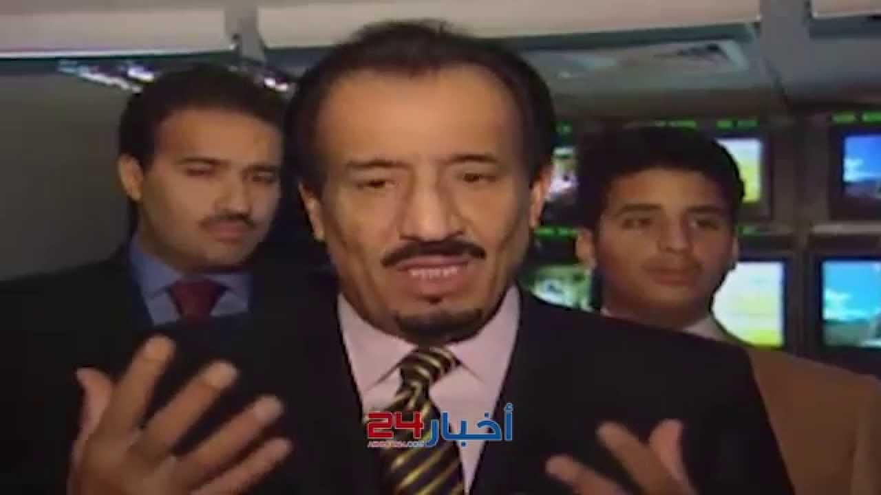 فيديو نادر لزيارة الملك سلمان لـmbc يرافقه الأمير محمد بن سلمان