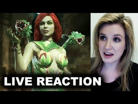 Thumbnail: Injustice 2 Poison Ivy Trailer REACTION