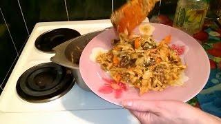 Капуста тушеная рецепт с мясом как приготовить бигус классический на обед и ужин дома быстро вкусно(Тушеная капуста с мясом рецепт бигуса простой. Как приготовить бигус - тушеную капусту сделать приготовить..., 2015-02-22T17:40:21.000Z)