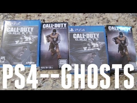Call Of Duty Ghosts 2 Copies In The Mail Playstation 4 Youtube