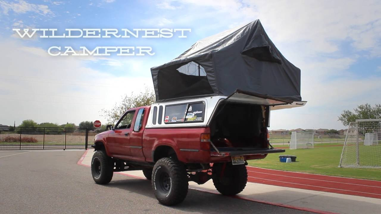 Toyota Hilux With Wildernest Camper Overland Build! - YouTube