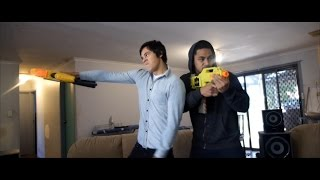 Most Epic Nerf War in History!(ITS NERF TIME! WE'RE ON INSTAGRAM @therackaracka Directed & Edited by: Danny & Michael Philippou. https://www.facebook.com/Danny.Philippou.Racka., 2014-09-09T08:32:19.000Z)