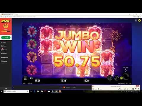 Rizk Casino 10/02/2018 - Pink Elephants - Online Slot - 20p Stake to ??? - how many x? - Low Stakes