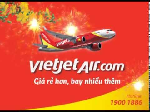Quảng cáo Tết 2016 – TVC 5 Giây Vietjet Air chúc tết Bính Thân 2016