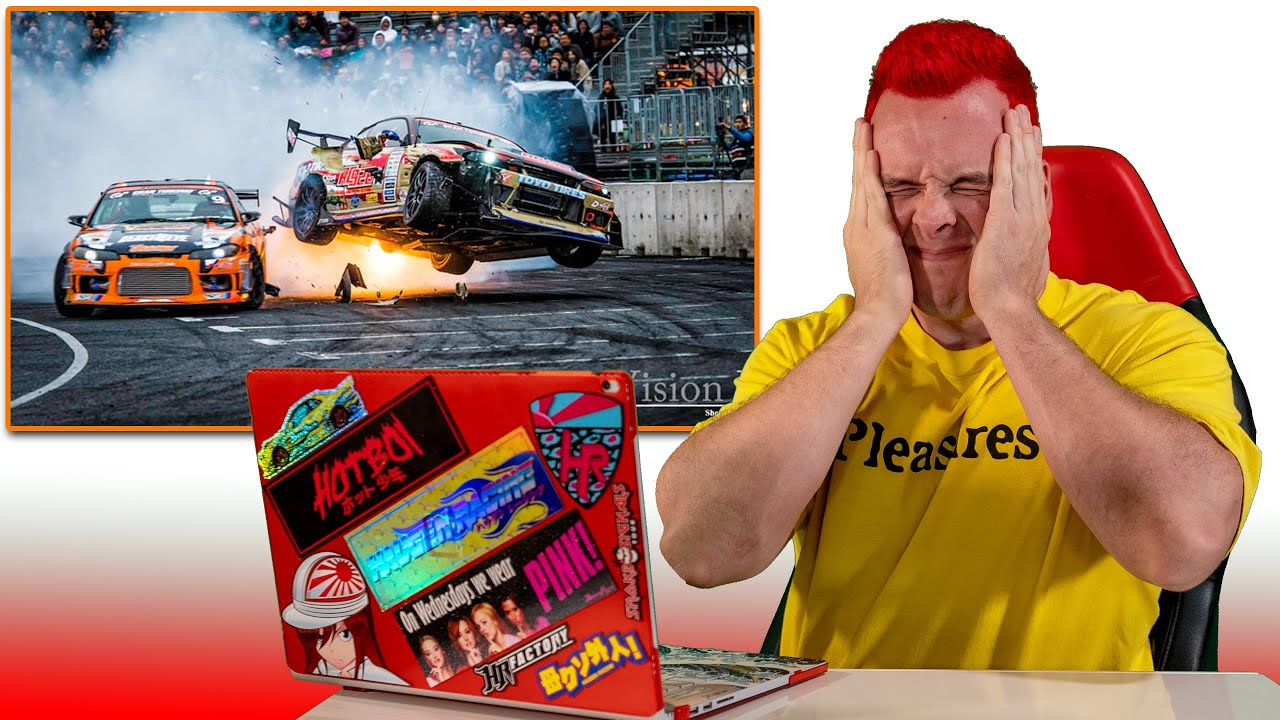 Pro Drifter Reacts to Drifting Fails (How to Avoid!)
