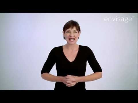 How to use envisage, the facial massage exerciser.