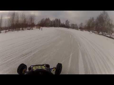Winter Kart 2014\ Дзержинск 02\03\2014 3 Заезд Шипы