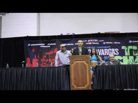 Teofimo Lopez first press conference after pro debut